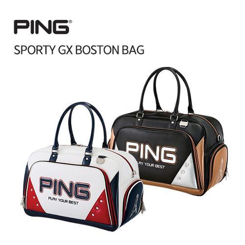 [PING] 삼양정품 18 PING SPORTY GX 보스턴백 골프백