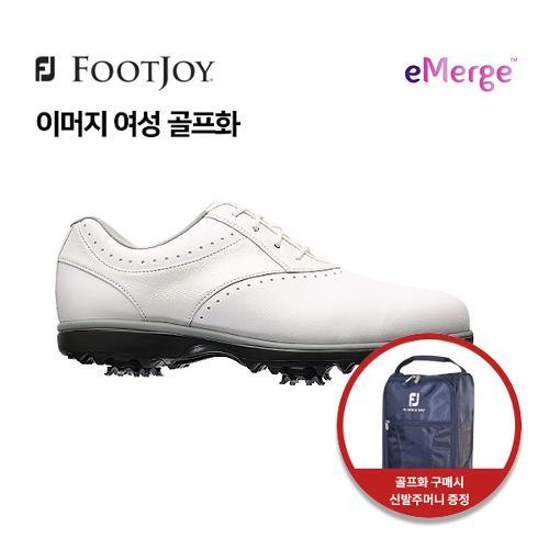 [풋조이] 아쿠쉬네트 정품 eMERGE 여성 골프화 93913 화이트 W