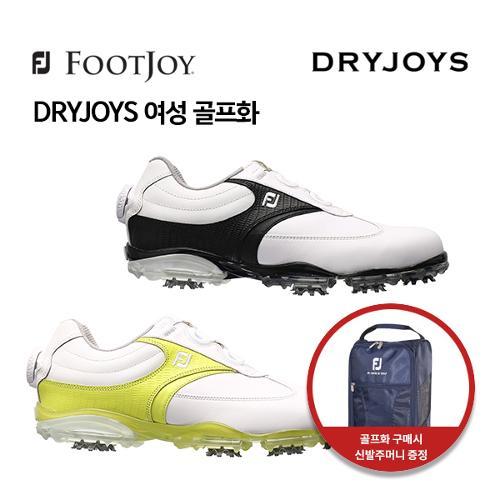 [풋조이] 아쿠쉬네트 정품 DRYJOYS 여성 골프화 99008, 99009 W