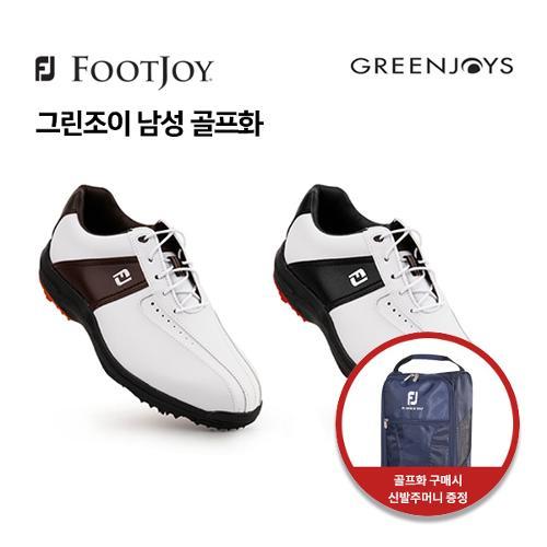 [풋조이] 아쿠쉬네트 정품 GREENJOYS 남성 골프화 45300, 45302 XW