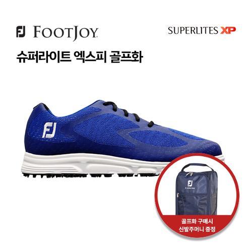 [풋조이] 아쿠쉬네트 정품 SUPERLITES XP 남성 골프화 58026 W