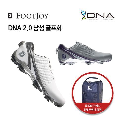 [풋조이] 아쿠쉬네트 정품 DNA 2.0 보아 남성 골프화 53397, 53396 XW