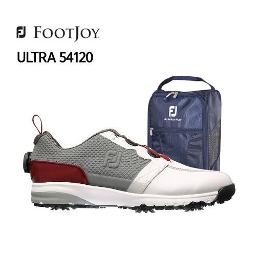 [풋조이] 아쿠쉬네트 정품 2017 ULTRA FIT 54120 남성 골프화 [FJ 정품 신발주머니 증정]