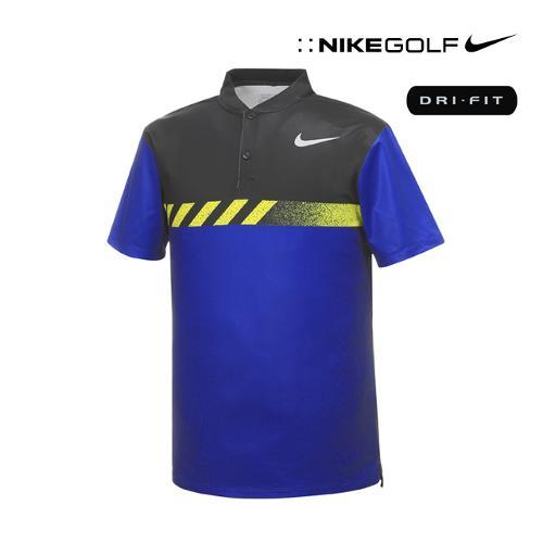 [나이키골프] 남성 모던핏 변형카라 티셔츠 885711-512_GA