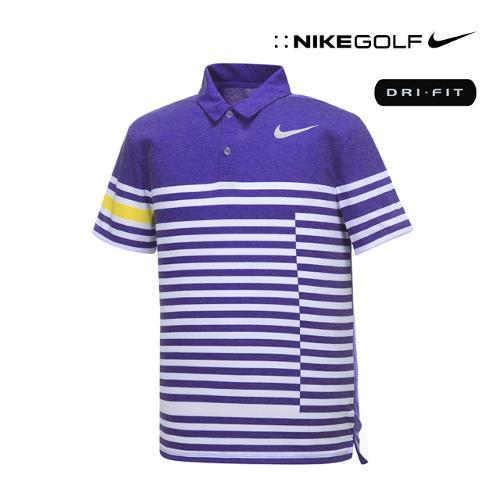 [나이키골프] 남성 스트라이프 모던핏 PK 티셔츠 833082-512_GA