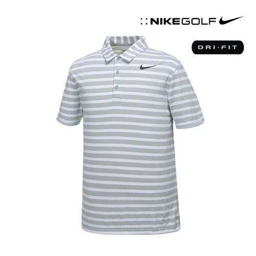 [나이키골프] 남성 스트라이프 PK 티셔츠 833066-012_GA