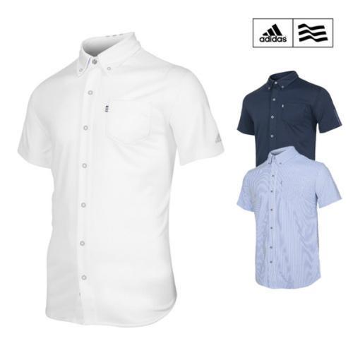 아디다스 SS 쿨맥스 남성 마스터 반팔 셔츠 CI1457 CI1458 CI1459 골프웨어 남방 골프의류