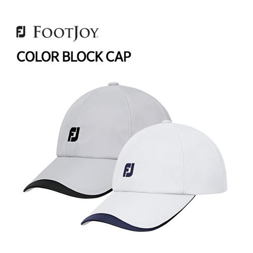 [풋조이] 아쿠쉬네트코리아 정품 COLOR BLOCK CAP 컬러 블록 캡 FH17ABS