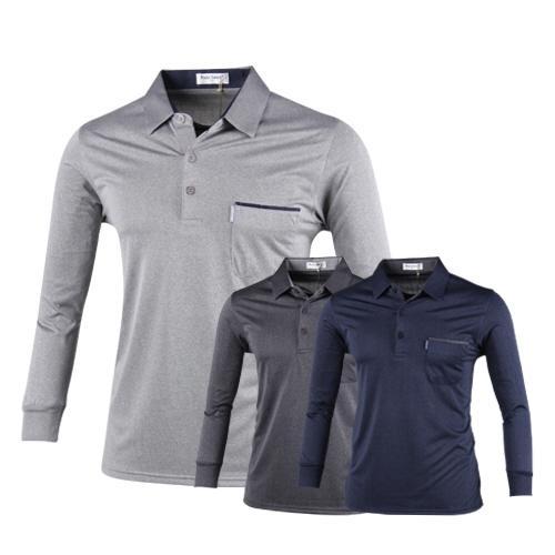 파크타운 포켓 포인트 배색 긴팔 셔츠 RM8S406