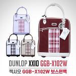 [2018년신제품]던롭 젝시오 GGB-X102W 채크무늬 바퀴달린 핸드캐리어 보스턴백-4종칼라