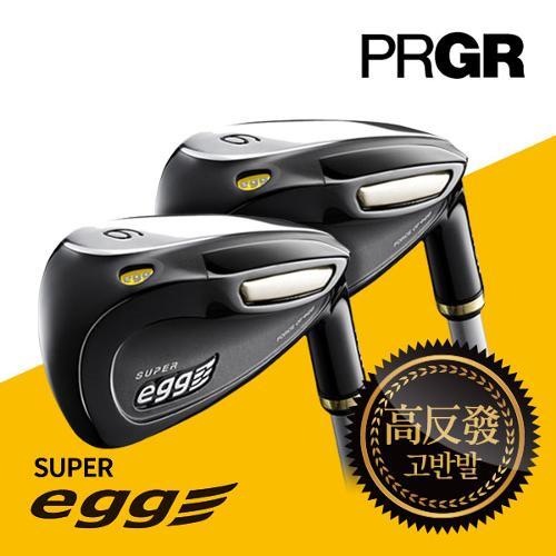 PRGR  SUPER Egg 슈퍼에그 고반발 카본 8 여성 아이언(6~9,P,A,AS,S)