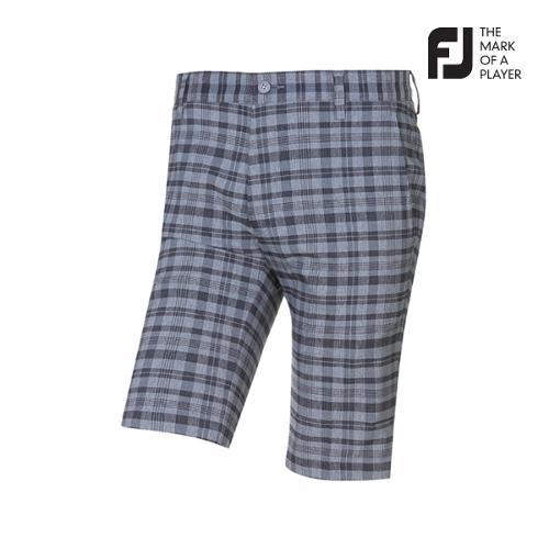 [풋조이] 남성 클래식 체크패턴 하프팬츠(90711)_GA
