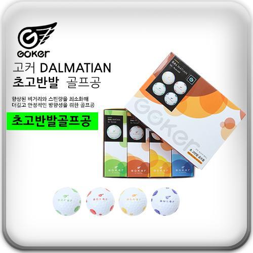 팬텀정품 고커 달마시안 2피스 초고반발 골프공