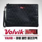[2018년신제품]볼빅 골프 VAHB 마블 패턴 클러치백 파우치백(33X23cm)