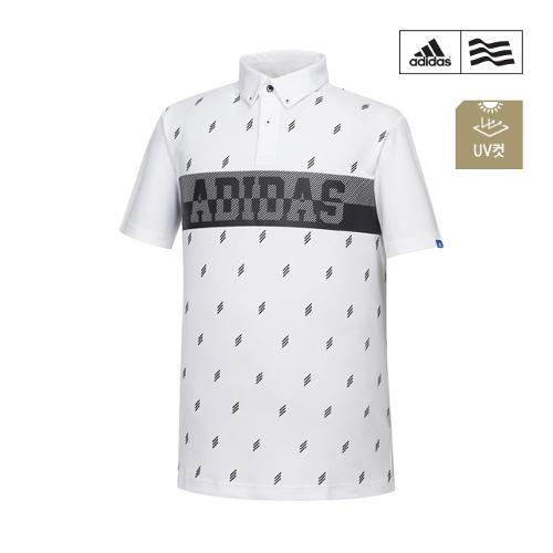 [아디다스골프] 남성 패턴프린트 폴로 티셔츠 CV8722_GA