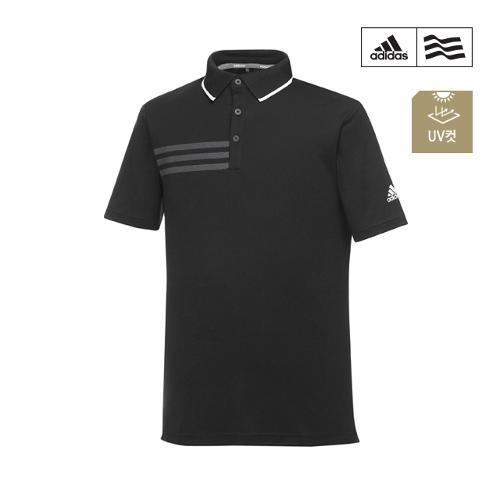 [아디다스골프] 남성 삼선프린트 폴로 티셔츠 CF9333_GA