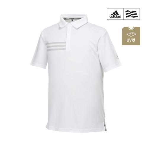 [아디다스골프] 남성 삼선프린트 폴로 티셔츠 CF7895_GA