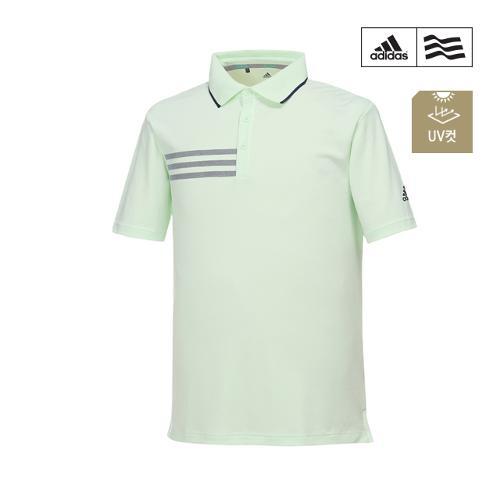 [아디다스골프] 남성 삼선프린트 폴로 티셔츠 CF7887_GA