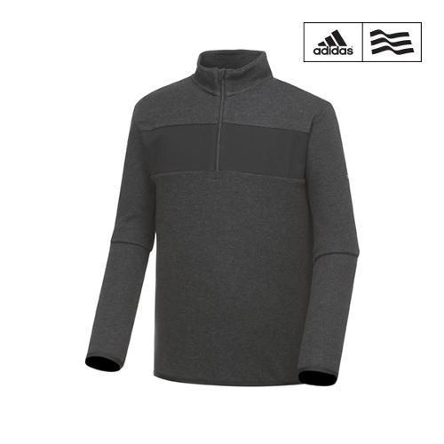 [아디다스골프] 남성 배색포인트 반집업 티셔츠 BC2321_GA