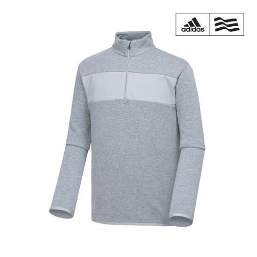 [아디다스골프] 남성 배색포인트 반집업 티셔츠 BC1633_GA