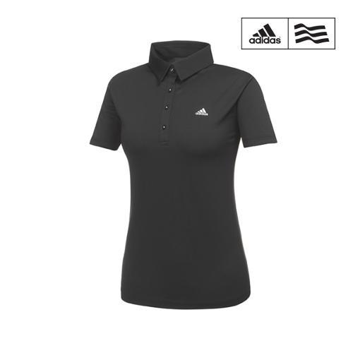 [아디다스골프] 여성 언발런스배색 폴로 티셔츠 BC5641_GA