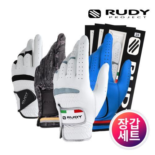 커터앤벅 남성 최고급 천연 반 양피가죽 골프장갑 7장 1세트 - 2종 택1