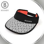 보그너 BOGNER 여성 패턴포인트 골프모자/썬캡 - BN-01-182-214-32