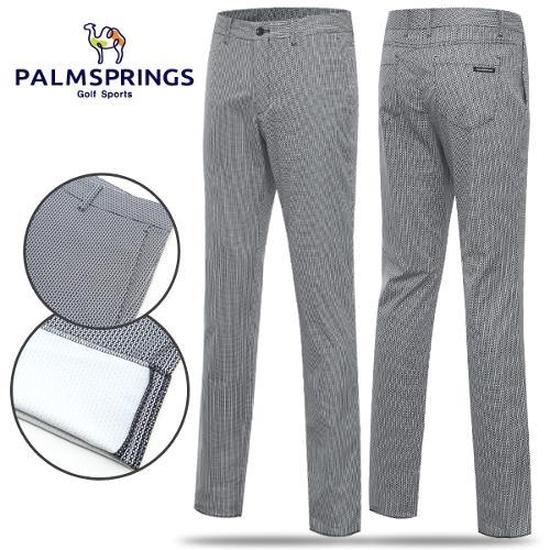 [팜스프링스] 폴리 배색 패턴 남성 노턱바지/골프웨어_238704