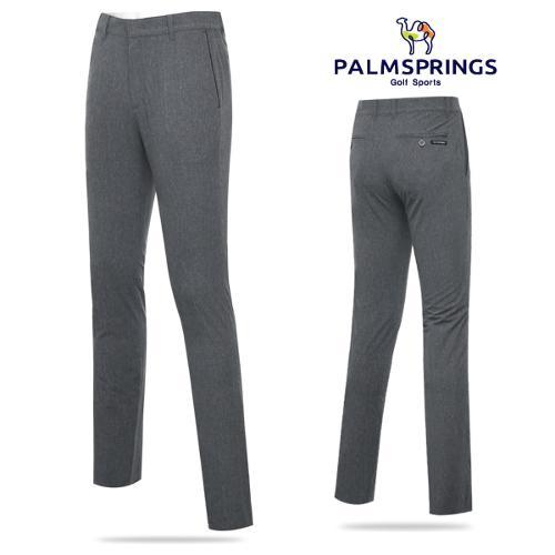 [팜스프링스] 폴리스판 멜란지그레이 패턴 남성 노턱 골프바지/골프웨어_238701