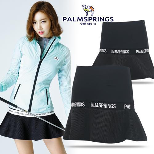 [팜스프링스] 와플 밑단 패턴 여성 골프 큐롯/골프웨어_238537