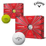 캘러웨이 크롬 소프트 골프공 12알 화이트 옐로우 골프용품 필드용품