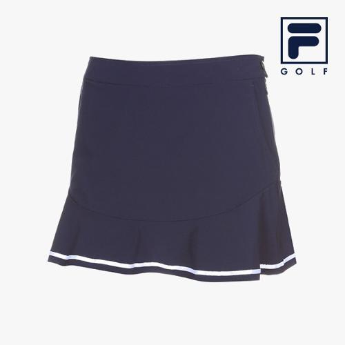 [FILA GOLF] 여성 러플배색 스커트 FG2CUA2253F-NAY_GA