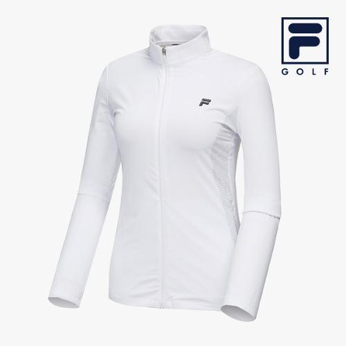 [FILA GOLF] 여성 사이드그래픽 풀집업 자켓 FG2WBA2204F-WHI_GA
