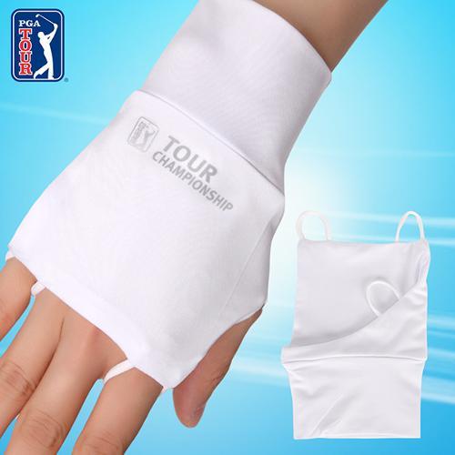 [PGA TOUR] 챔피언십 골프 남성용 자외선 UV 차단 손등토시( 오른손 )