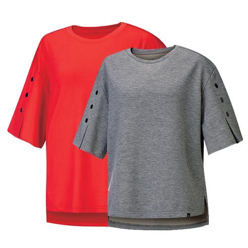 비티알 슬리브 버튼 여름티셔츠 브루나(여) BPT0490W
