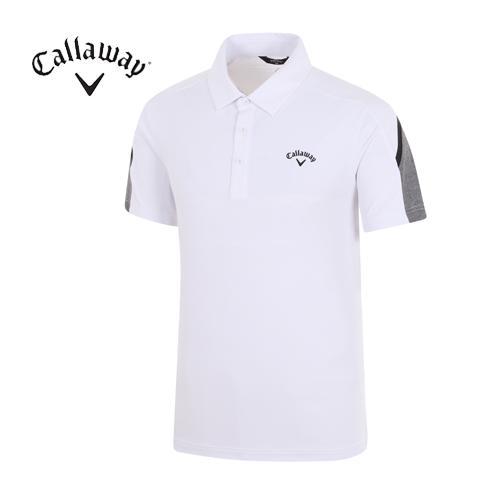 [캘러웨이]18SS 남성 에어 써클 티셔츠 CMTYH2153-100