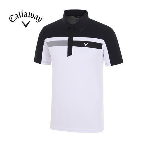 [캘러웨이]18SS 남성 라인 스트라이프 티셔츠 CMTPH2107-925