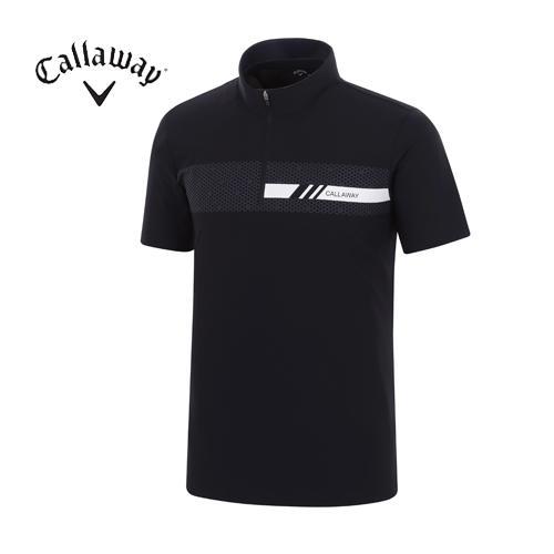 [캘러웨이]18SS 남성 육각형 도형 패턴 티셔츠 CMTHH2108-925