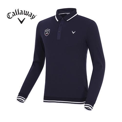[캘러웨이]남성 라인 블루종 카라 티셔츠 CMTPG1104-915