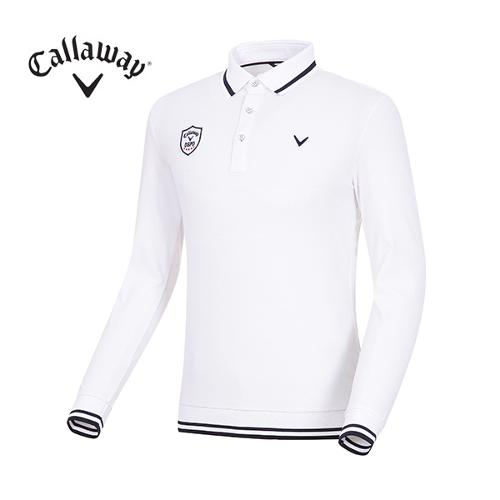 [캘러웨이]남성 라인 블루종 카라 티셔츠 CMTPG1104-100