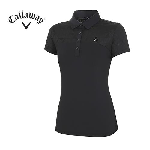 [캘러웨이]18SS 여성 패턴 포인트 티셔츠 CWTYH6172-199