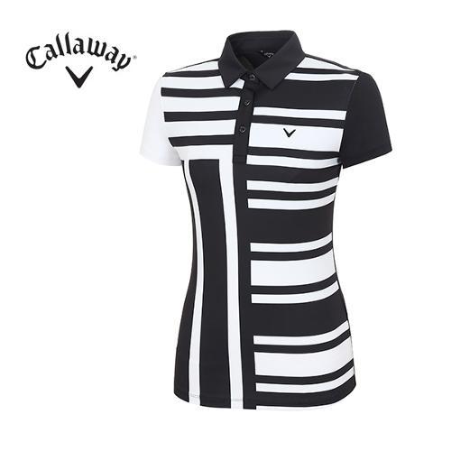 [캘러웨이]18SS 여성 모노 컬러 티셔츠 CWTYH6114-199