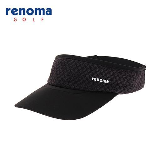 [레노마골프]18SS 여성 로고 패턴 썬바이저 모자 RWACH6801-199