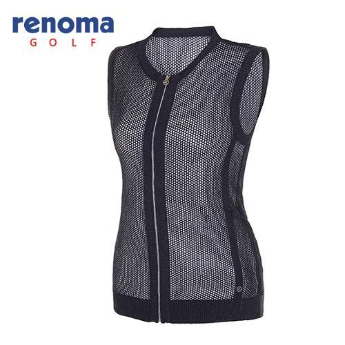 [레노마골프]여성 글리터 메쉬 집업 스웨터 RAKV71531-NY