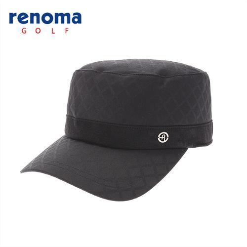 [레노마골프]여성 자가드 패턴 군모 모자 RCCP56511-BK