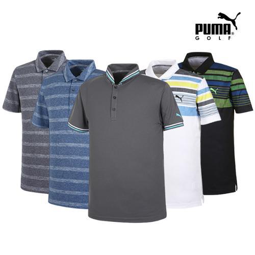 [푸마골프] 남성 PK 반팔 티셔츠 6종 택1_GA