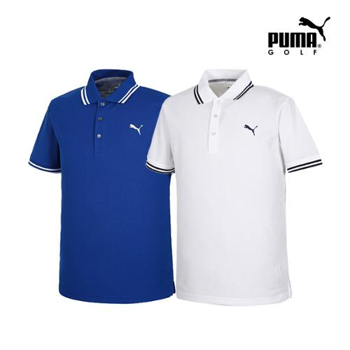 [푸마골프] 남성 ESS Pounce PK 반팔 티셔츠 2종 택1_GA