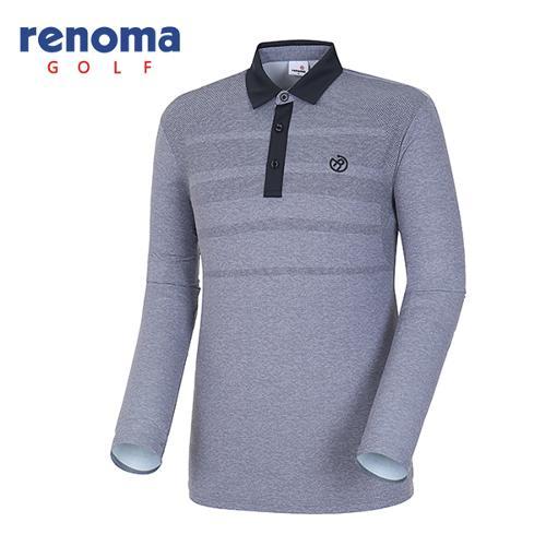 [레노마골프]18SS 남성 망점 긴팔 티셔츠 RMTYH2119-193