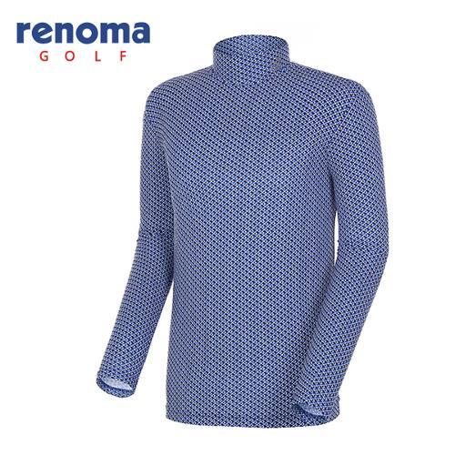 [레노마골프]18SS 남성 지오메트릭 베이스레이어 티셔츠 RMTHH1113-906