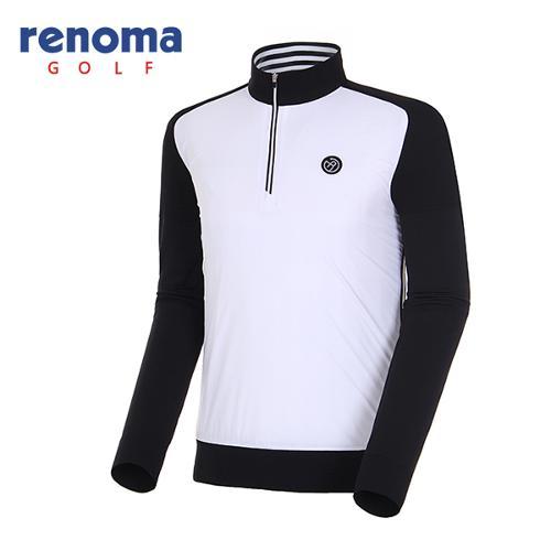 [레노마골프]18SS 남성 하이브리드 풀오버 스웨터 RMSHH1203-100